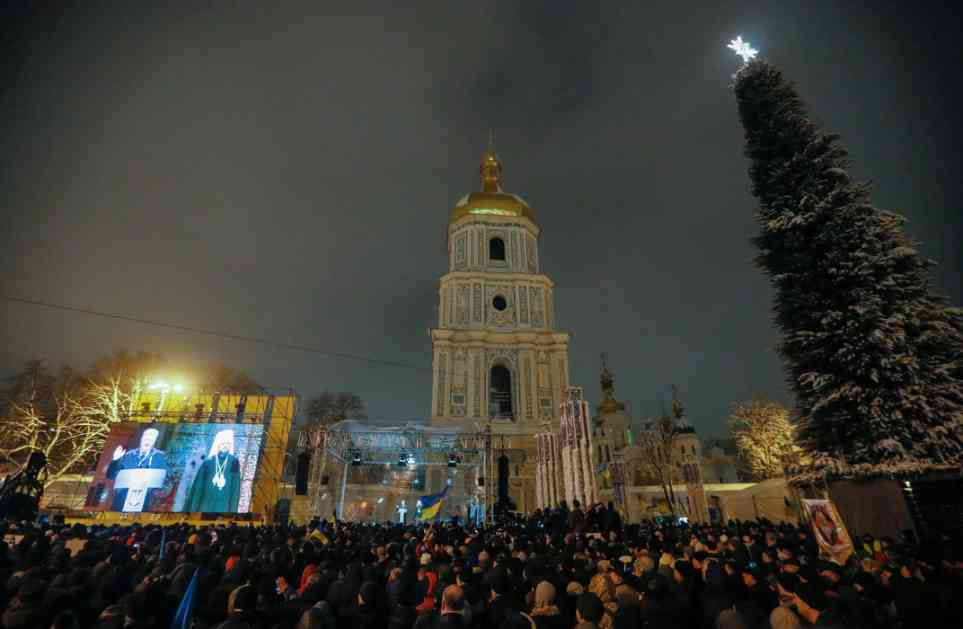 Nova ukrajinska crkva od Vaseljenske dobija dekret 6. januara
