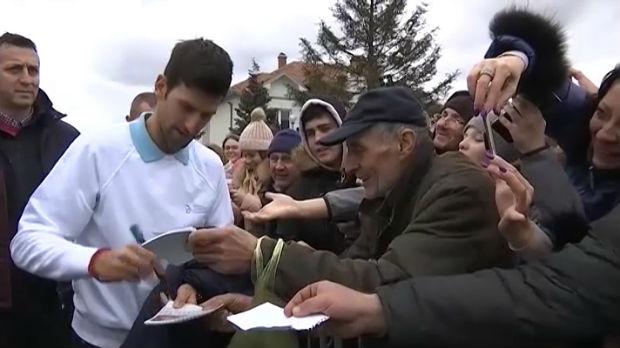 Novak Đoković i njegova Fondacija nagrađeni za humanitarni rad