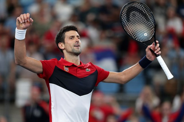 Novak: Iscrpljujuća borba do poslednjeg poena