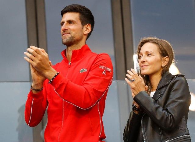 Novak i Jelena negativni na koronavirus!