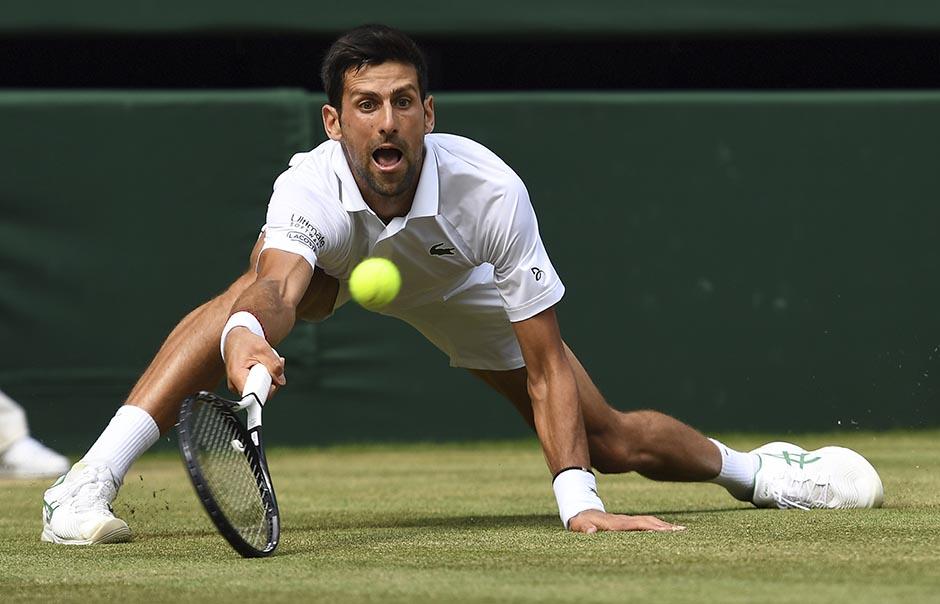Novak je rekorder: Odigrao NAJDUŽI poen na Vimbldonu