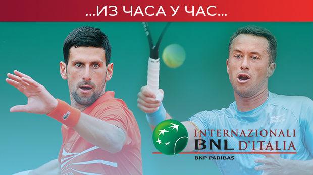 Novak počistio Kolšrajbera i plasirao se u četvrtfinale Rima