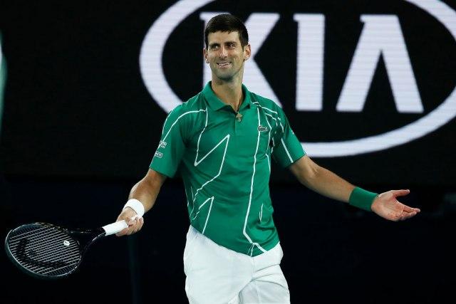 Novak se radovao izgubljenom poenu kao da ga je osvojio VIDEO