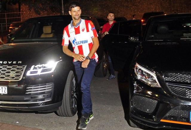 Novak u dresu Zvezde došao na Mitić FOTO/VIDEO