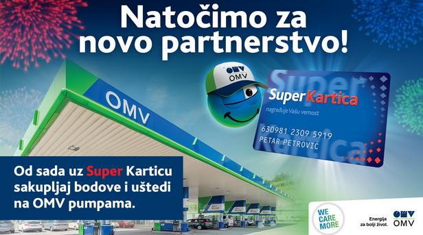 Nove pogodnosti za kupovinu na OMV benzinskim stanicama uz Super Karticu