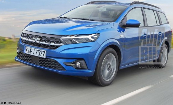 Novi Dacia Logan karavan na novom renderu