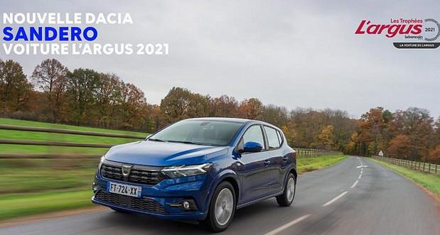 Novi Dacia Sandero proglašen automobilom godine