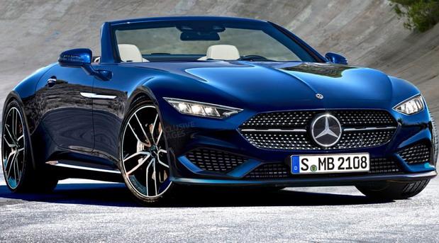 Novi Mercedes SL na novim crtežima