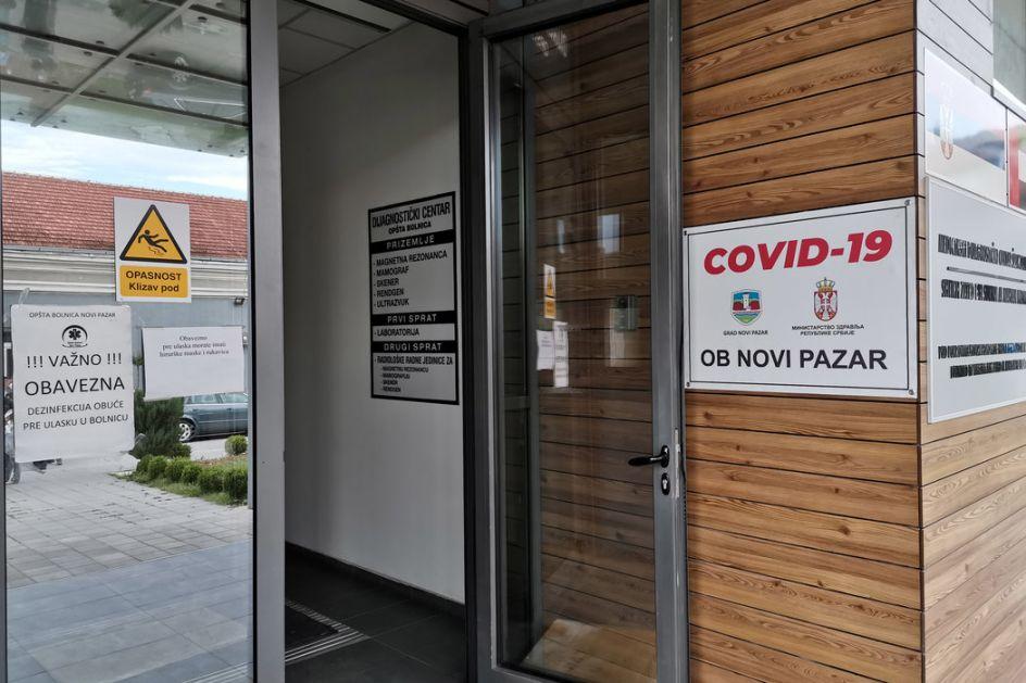 U Novom Pazaru troje umrlo, 75 hospitalizovano, pomoć stiže; Na jednog pacijenta stigne još 10 članova familije