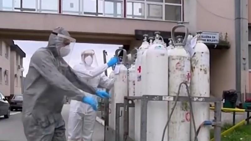 Novi Pazar: Šestoro na respiratorima, na liječenju 121 zaraženih
