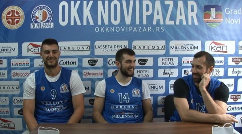 Novi Pazar predstavio Đumića, Novakovića i Zahiragića
