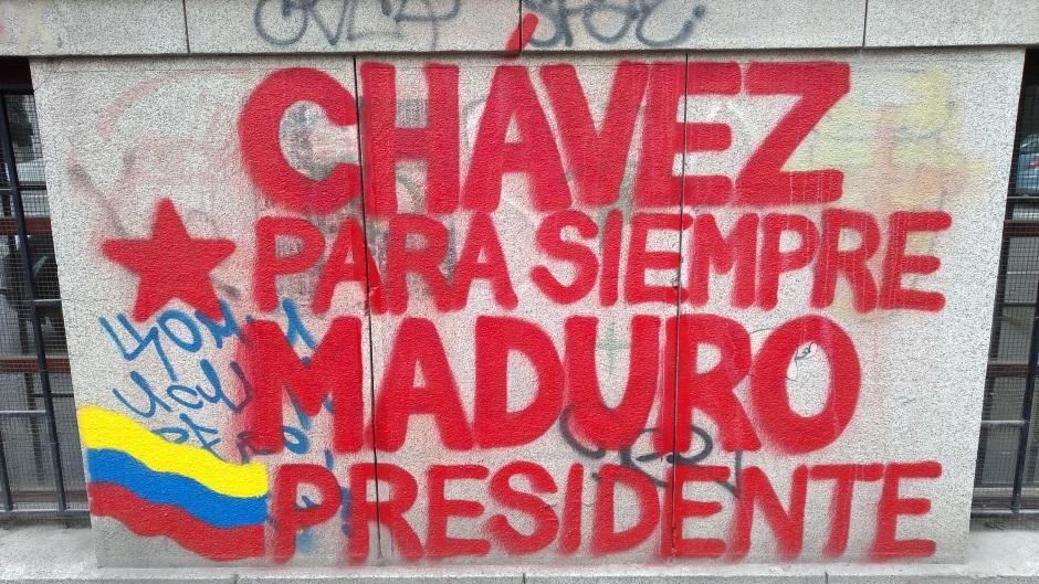 Novi Sad: Maduro predsednik, idemo Venecuela (FOTO)
