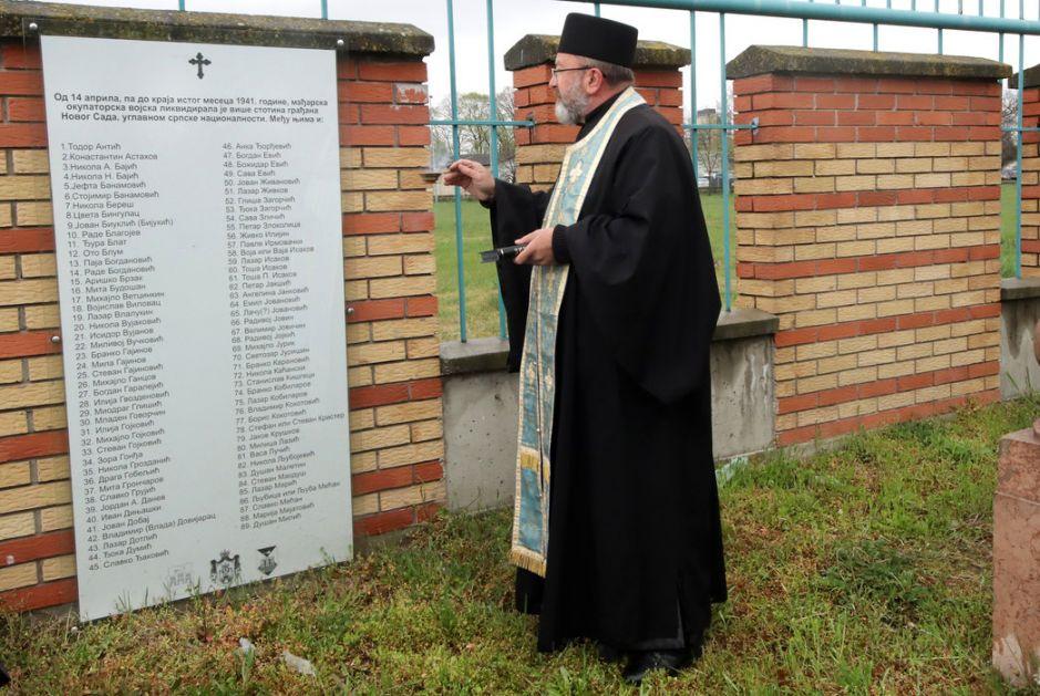 Novi Sad: Pomen zaboravljenim žrtvama iz 1941.