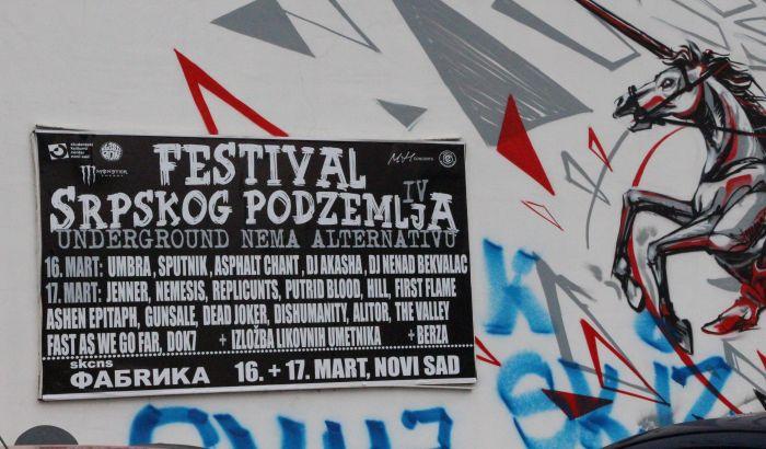 Novi Sad postaje andergraund za vikend