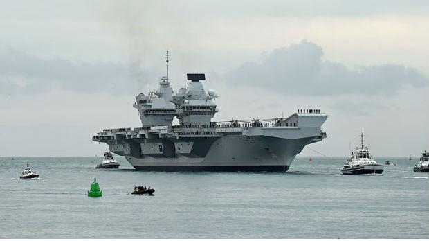 Ponos britanske mornarice ponovo propušta vodu
