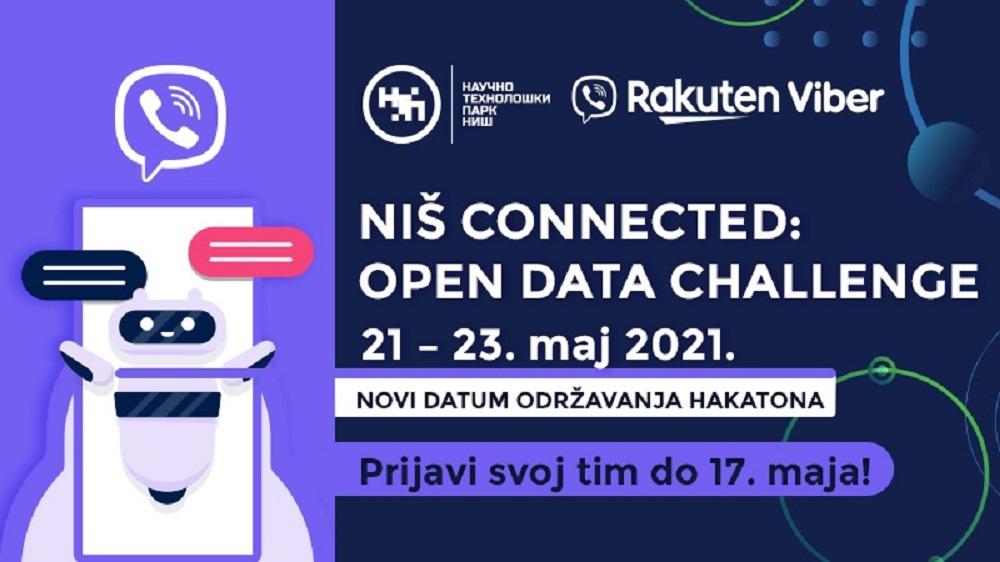 Novi datum održavanja Niš Connected: Open Data Challenge Hakaton-a