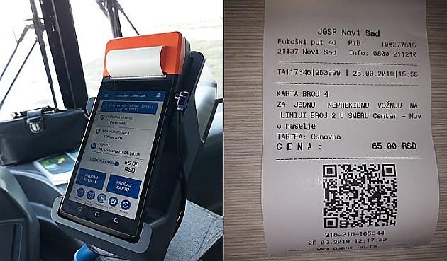 Novi elektronski aparati za prodaju karata u gradskim autobusima