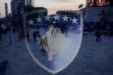 Novi incident u Severnoj Mitrovici: Provokacije albanskom zastavom, počinioci privedeni VIDEO