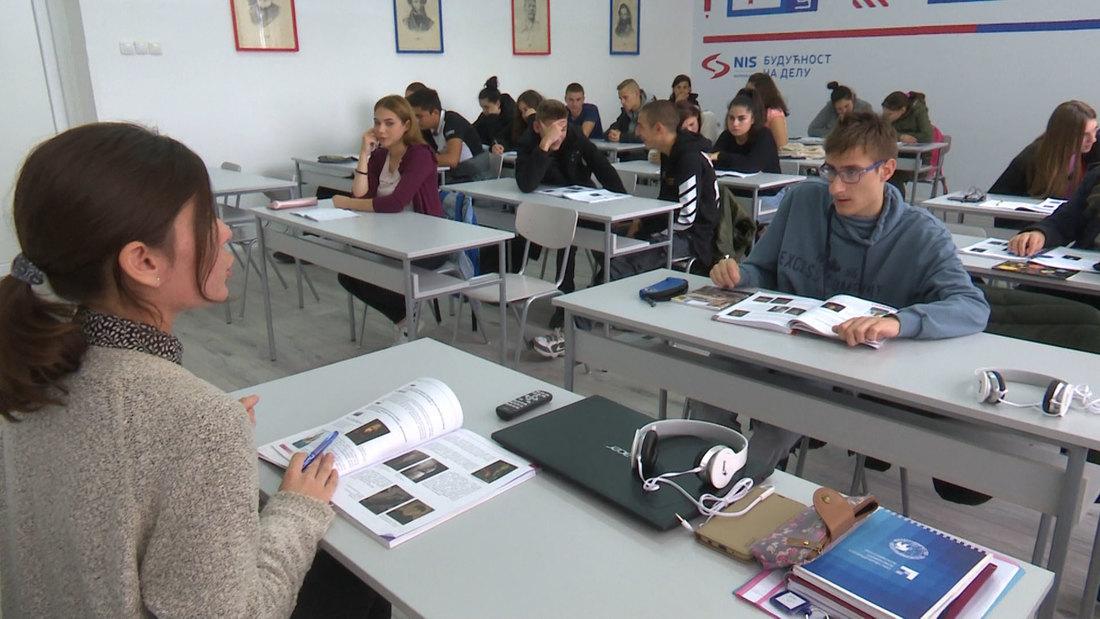 """Novi kabinet za ruski u školi 4. juli"""" u Vrbasu"""