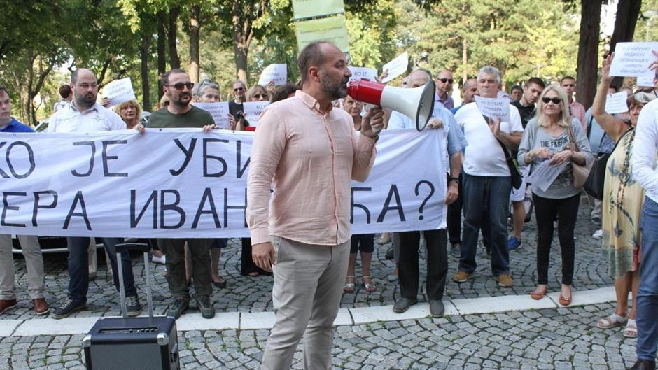 Novi protest PSG ispred Predsedništva, pitanja za Vučića