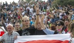 Novi protesti u Belorusiji, Lukašenko odbacio pozive da podnese ostavku