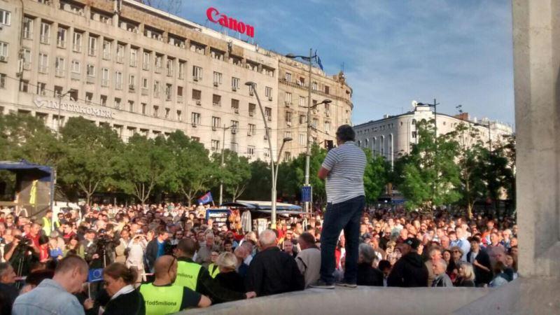 Skup 1 od 5 miliona u Beogradu: Vučić da prestane da deli građane