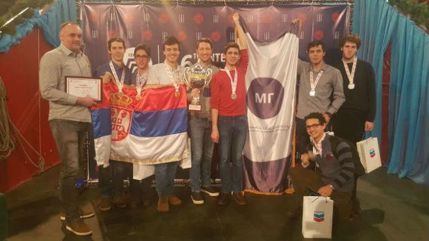 Novih sedam medalja za mlade matematičare
