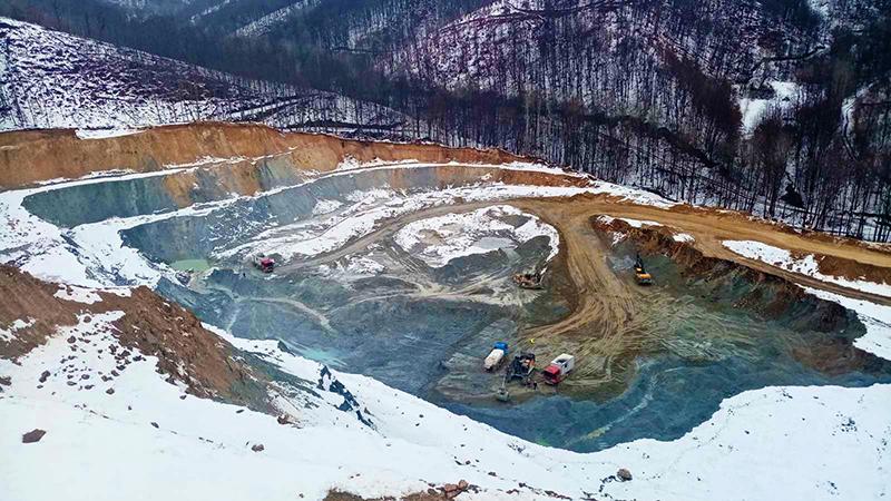 Novo Cerovo će isporučivati 10.000 tona rude dnevno