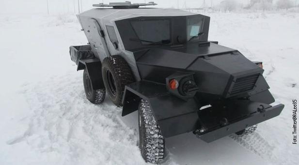 Novo rusko oklopno vozilo Lasok 4-P izgleda kao da je uzeto od Topalovića