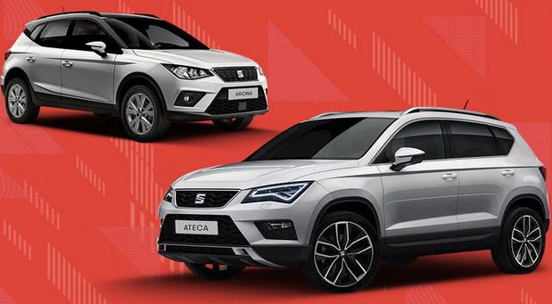 Novogodišnja ponuda za SEAT modele Ateca i Arona