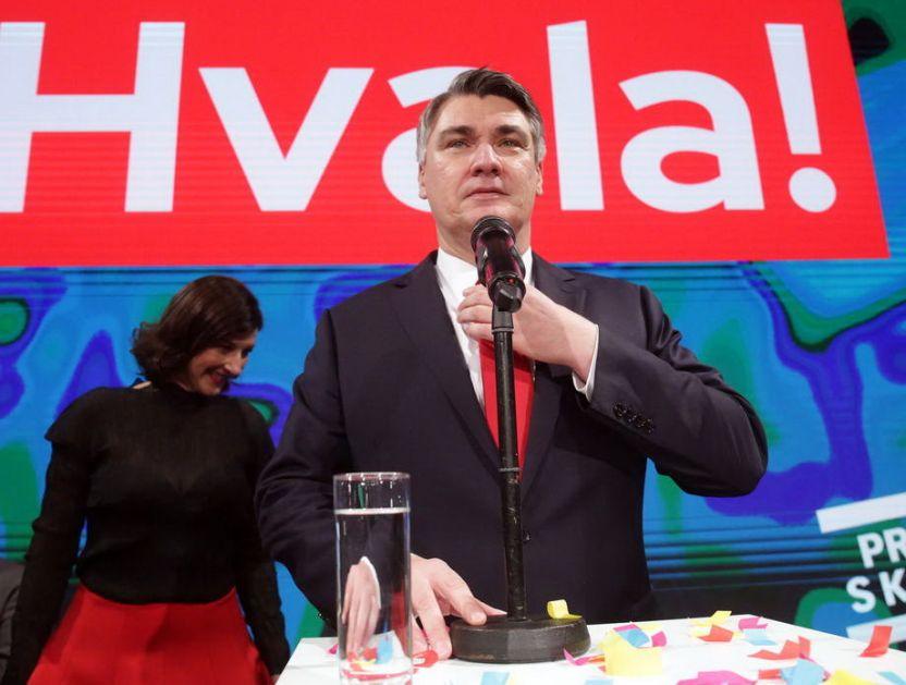 Novom predsedniku Hrvatske bio potreban dan za prvi skandal