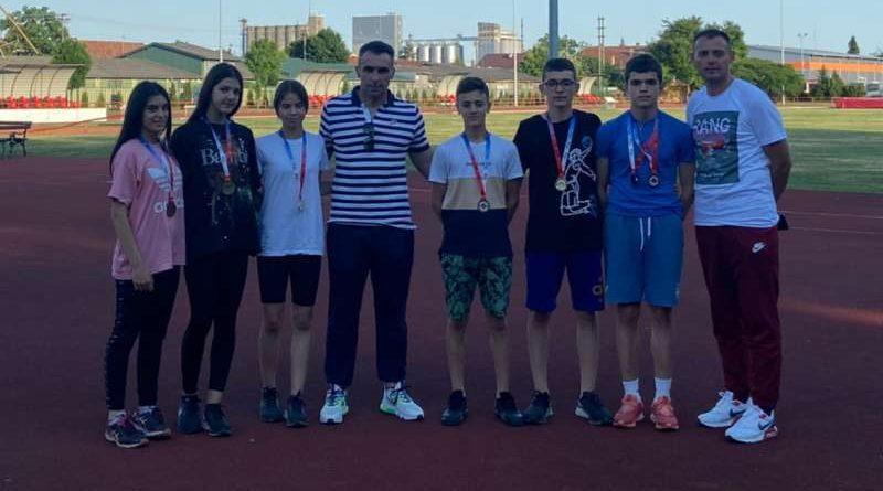 Novopazarcima četiri zlata na pionirskom PS u Sremskoj Mitrovici