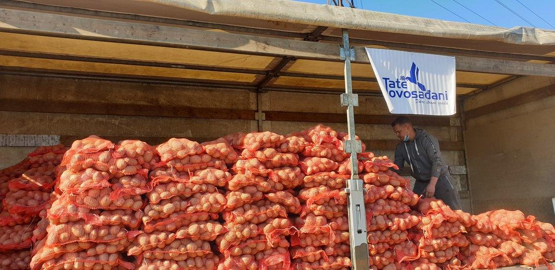 Novosađani kupili 13 tona ivanjičkog krompira