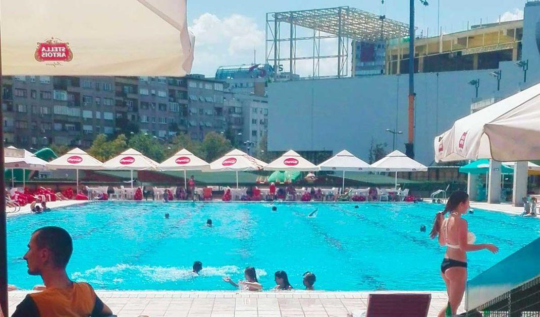 Novosađani spas od vrućina traže na bazenima