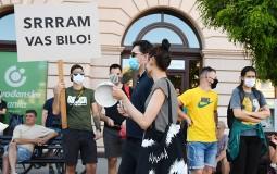 Novosadjani završili protest, sutra dolaze u Beograd
