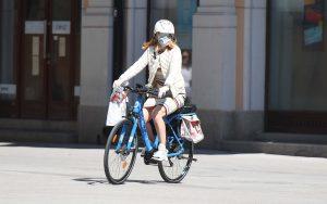 Novosadska biciklistička inicijativa skreće pažnju na sve manji broj ivičnjaka u gradu