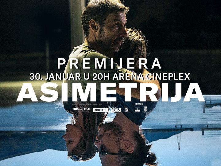Novosadska premijera filma Asimetrija u Areni Cineplex