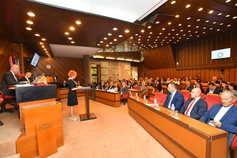 Novosadska skupština o rebalansu budžeta