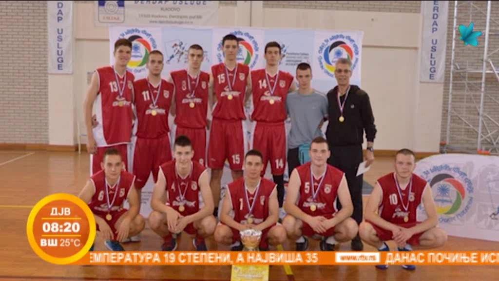 Novosadski gimnazijalci prvaci države u košarci i basketu
