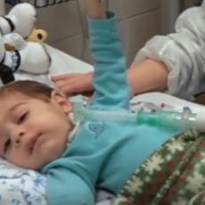 O MALOM OLIVERU BRINE TIM LEKARA: Dečak trenutno u bolnici u Budimpešti, čeka da primi svoju terapiju (FOTO)