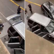 OBJAVLJEN SNIMAK HAPŠENJA UBICE IZ NEMAČKE! Kolima gazio ljude, a ovako su ga policajci savladali! (VIDEO)