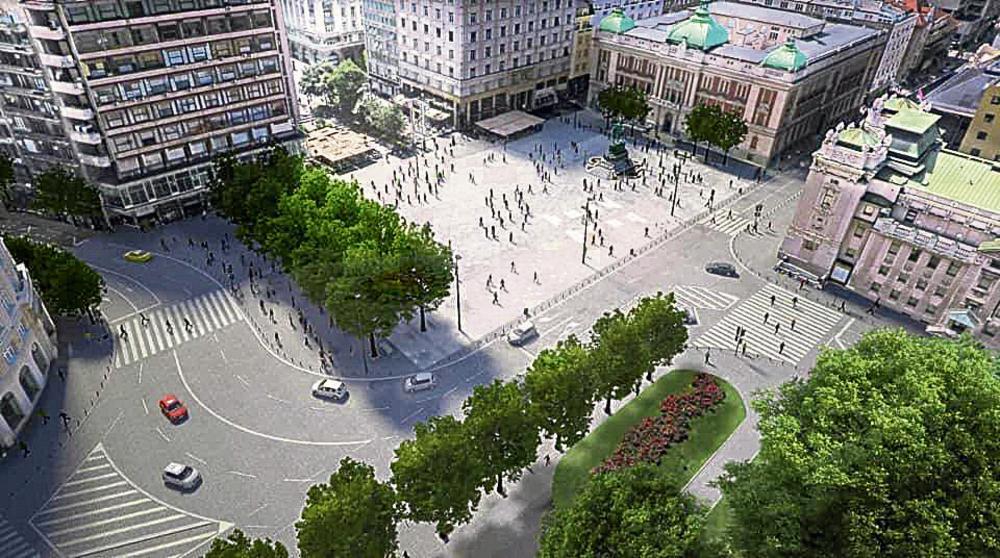 OD SUBOTE CENTAR BEOGRADA U VELELEPNOM RUHU: Ovako će izgledati novi Trg republike! (FOTO)