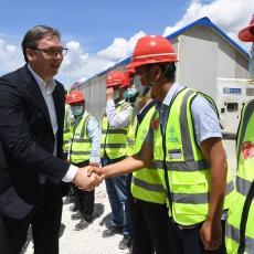 OD UŽICA DO BEOGRADA ZA SAT I 40 MINUTA: Vučić obišao radove na izgradnji NAJDUŽEG TUNELA u Srbiji (FOTO)