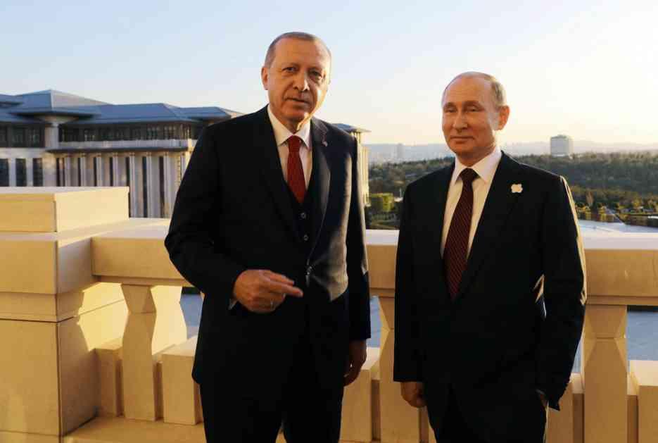 ODMAH POSLE TRAMPOVE OBJAVE DA DUPLIRA CARINE TURSKOJ: Erdogan i Putin razgovarali o ekonomskim vezama