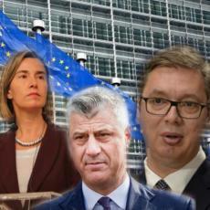 OGLASILA SE EVROPSKA UNIJA: Vučić i Tači nastavljaju dijalog!