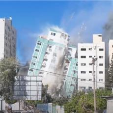 OGLASILA SE IZRAELSKA VOJSKA: Otkriveno zbog čega su bombardovali zgradu Al Džale, ljudima javili da se evakuišu (VIDEO)