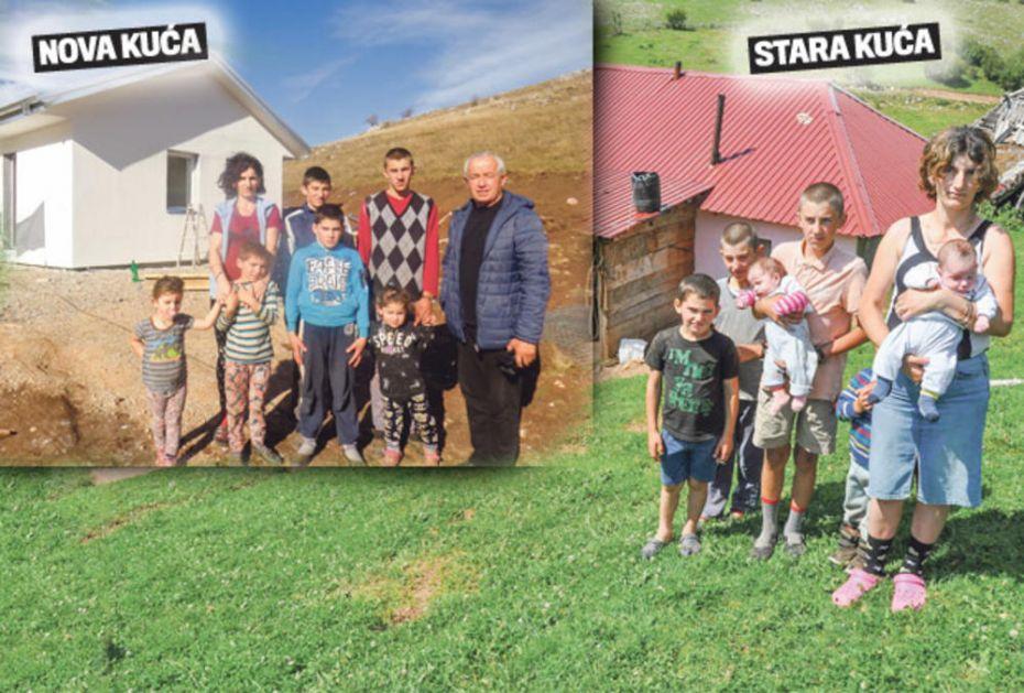 OGROMNA RADOST! JELIĆI VIŠE NE ŽIVE U MRAKU: Osmočlana porodica s Peštera posle 20 godina dobila STRUJU I NOVU KUĆU!