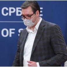 OGROMNO HVALA HEROJIMA: Vučić se dirljivom porukom zahvalio svim zdravstvenim radnicima (FOTO)