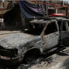 OKRŠAJ AVGANISTANSKIH SNAGA BEZBEDNOSTI I TERORISTA: Podmetnuta bomba izazvala haos!