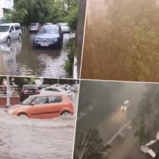 OLUJA OPUSTOŠILA MOSKVU: Stabla padala na sve strane, niz ulice TEKLE REKE (VIDEO)